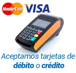Resultado de imagen para aceptamos tarjeta de credito